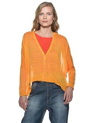 Stefanel Cardigan (Orange)