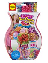 ALEX Toys Craft Giant Paper Flowers in a Vase