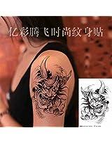 Zokey Original Design Waterproof Temporary Tattoo Stickers A Large Semi Wisdom Ws31
