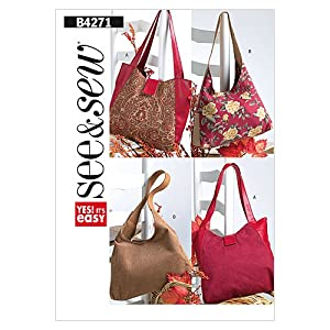 Butterick Patterns B4271 Handbags, One Size Only