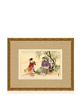1898 Toyokuni, Asian Woodblock Print IV