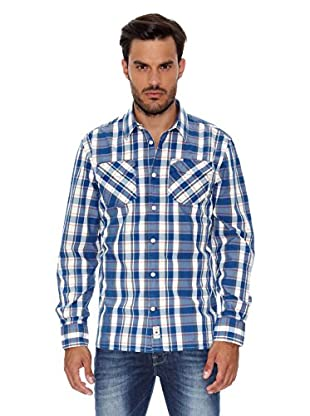 Pepe Jeans London Camisa Hombre Bernard (Azul Oscuro)