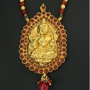 Laxmi necklace 33 - temple jewellery