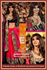 Celebrity Priyanka Chopra Style Mazanta Georget Saree (243) By RCPC