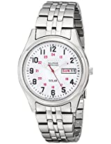 Seiko Men's SNE045 Solar White Dial Watch