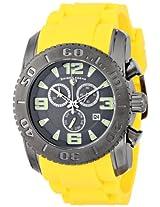 Swiss Legend Men's 10067-GM-014-YLS Commander Analog Display Swiss Quartz Yellow Watch