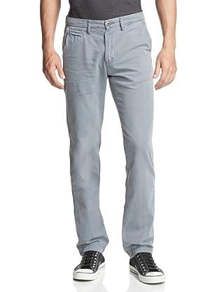 Original Paperbacks Men's Bayside Canvas Flat Front Pant (Light Grey)