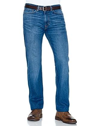 Dockers Pantalón 5 Bolsillos Recto (Azul)