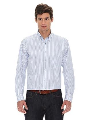 Turrau Camisa Rayas Classic (Azul)