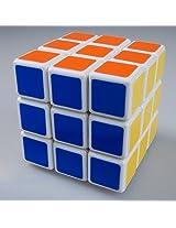 ShengShou v1 3x3 White + Maru Lube 10ml + Cubelelo Cube Pouch COMBO Offer