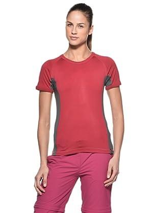Salewa Camiseta  Miscanti Dry (Frambuesa)