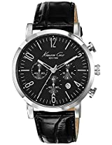Kenneth Cole Dress Sport Analog Black Dial Men'S Watch - 10020826