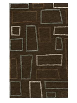 Rug Republic Vibe Layered Rug (Brown)