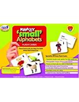 Krazy Small Alphabets - Flash Cards With Ring