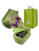 Packnbuy Navy Blue Travel Light Waterproof Shoe Storage Bag Organizer