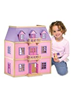 Melissa & Doug 4570 Multi-Level Wooden Dollhouse