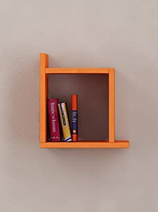 Decortie by Homemania Estante Box (Naranja)