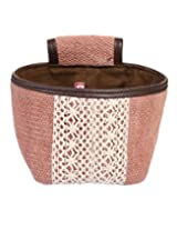New Designs Basket Cotton & Durrie Pink Floral Printed By Rajrang