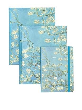 Peter Pauper Press Almond Blossom Journals and Planner Set
