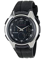Casio Men's AQ160W-1BV Ana-Digi Electro-Luminescent Sport Watch