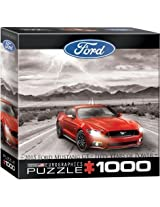 Euro Graphics Ford Mustang 2015 Jigsaw Puzzle (Small Box) (1000 Piece) By Eurographics Toys