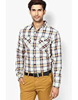 Checks Multi Color Casual Shirt