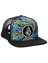 Volcom Men's Coast Print Cheese Hat