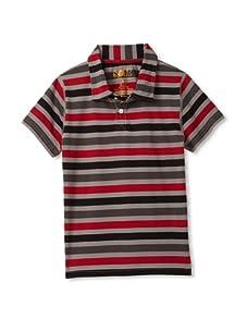 Soft Clothing for Children Boy's Marais Polo (Red)
