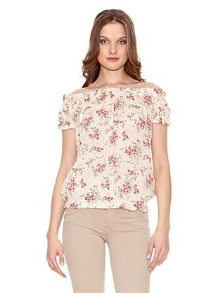 Fornarina Camiseta Salt (Crudo / Rosa)