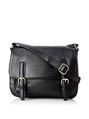 co-lab by Christopher Kon Women's Fiona Flap Cross-Body, Black