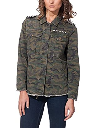 CIMINY PARIS Chaqueta Camouflage Studded Armys