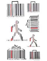 2012 New Design New Release Temporary Tattoo Waterproof Male And Female Models Barcode Pattern Tattoo Stickers