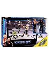 WWE Wrestling PPV Headquarters Wrestlemania Superstar Ring Playset [Roman Reigns & Brock Lesnar Acti