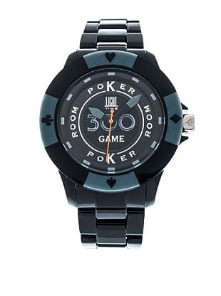 Light Time Reloj Poker Negro / Gris