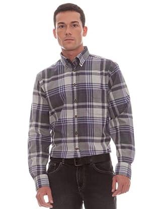 Gant Camisa Cuadros (malva / gris)