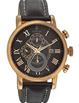 Titan Classique Analog Black Dial Men's Watch - NC9234WL01J
