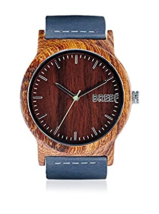 Breef Watches Reloj con movimiento japonés Unisex Sandal Azul 44 mm