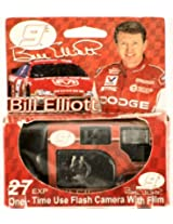 2000 - E-Top-Pics Inc - Bill Elliott #9 - Dodge - One Time Use Flash Camera w/ Film - Konica 400 Film - 27 Exposures - New - Limited Edition - Collectible - Rare