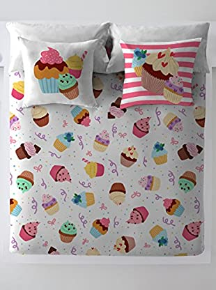 COSTURA Juego De Funda Nórdica Cupcake Party