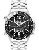 Jacques Lemans Chronograph Black Dial Men's Watch - U-34C
