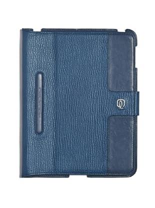 Piquadro Custodia iPad (blu avio)