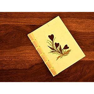 HappiSage Mini Bamboo Notebook