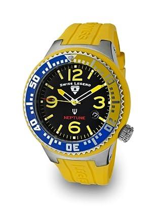 Swiss Legend Reloj Cuarzo Neptuno amarillo