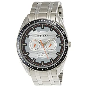 Titan Youth Analog Grey Dial Men's Watch - NE1582KM01