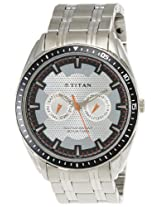 Titan Youth Analog Grey Dial Men's Watch - NE1582KM01