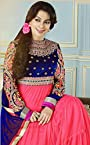 Juhi Chawala In Peach Floor Length Anarkali Suit