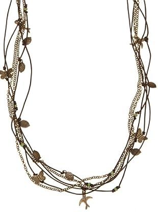 Pedro del Hierro Collar Mariposas (Marrón)