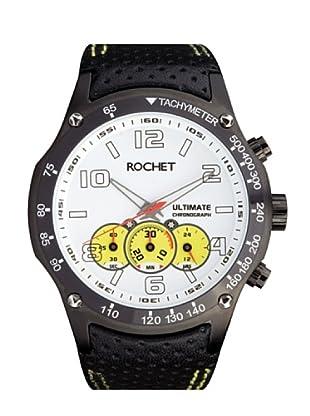 Rochet W104095 - Reloj de Caballero movimiento cuarzo con correa de piel Negro