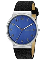 Skagen Ancher Analog Blue Dial Men's Watch - SKW6232