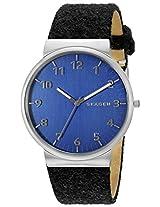 Skagen Ancher Analog Blue Dial Men's Watch - SKW6232